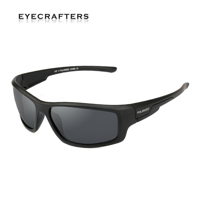 4d85ce22865 Details about Cycling Fishing Golf Polarized Sunglasses Mens Outdoor Sport  Polaroid Goggles