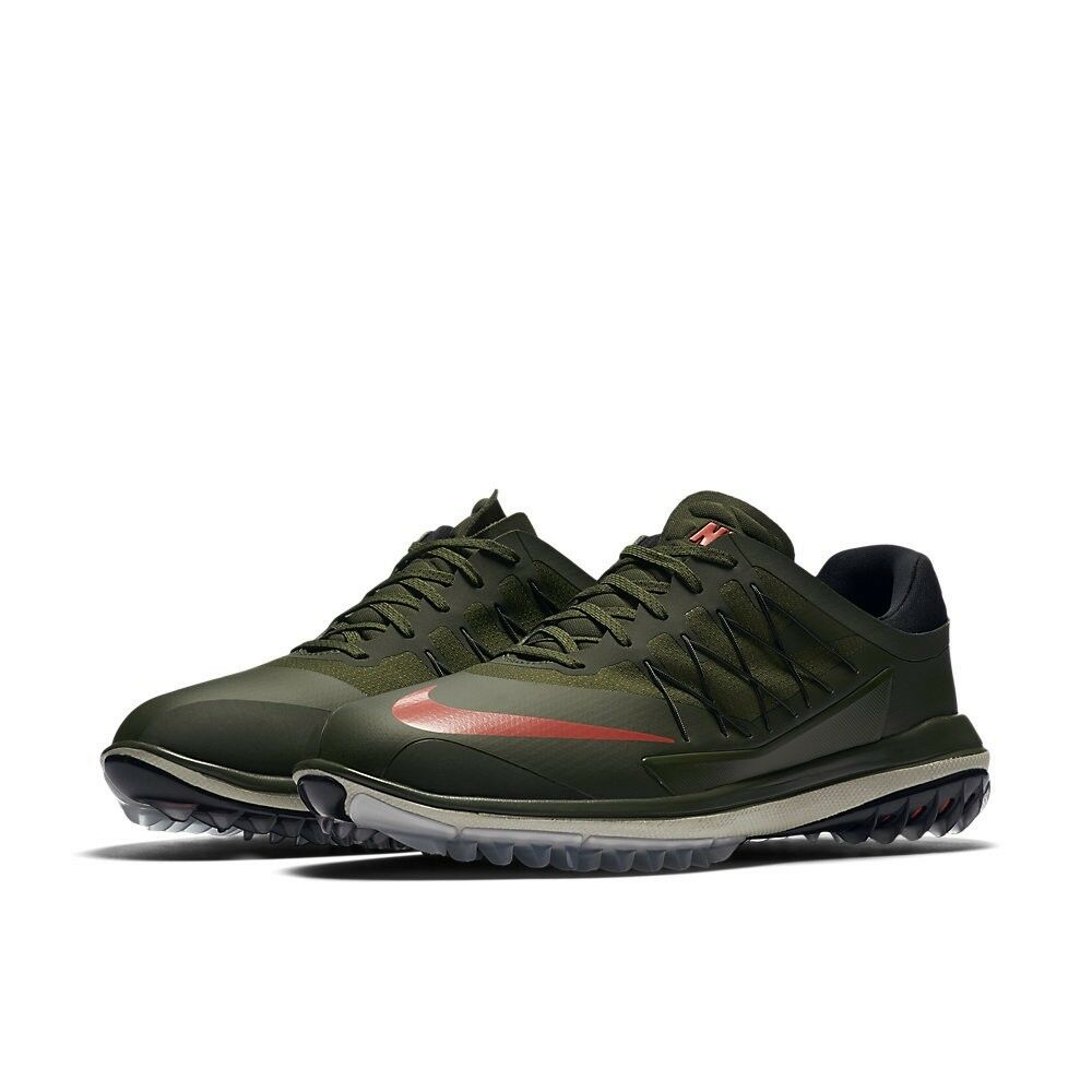 398089e920c4 Details about New Nike Golf Lunar Control Vapor Shoes Spikes Cleats Size 10  Olive Green Cargo