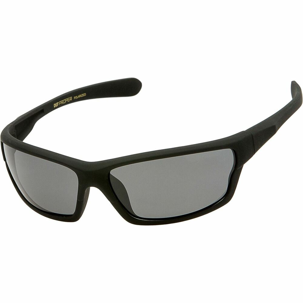 06dd182853b Details about DEF Proper Polarized Sunglasses Mens Sport Running Fishing  Golf Driving Glasses