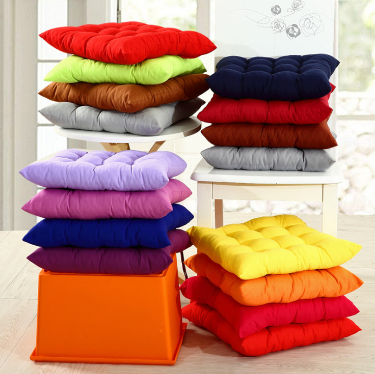Indoor Dining Room Chair Cushions: Indoor Outdoor Dining Garden Patio Soft Chair Seat Pads