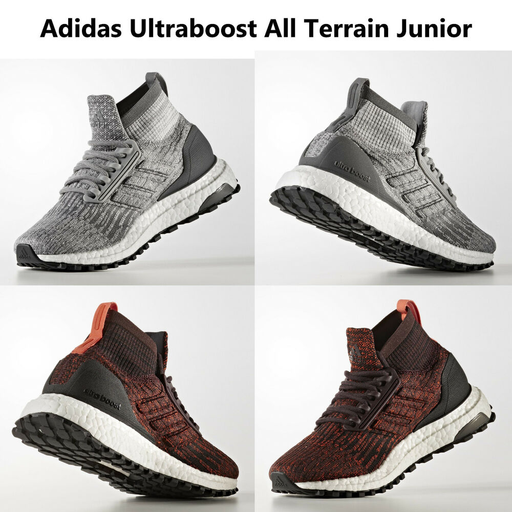 2f4711926 Details about ADIDAS UltraBoost All Terrain J Running Shoes Junior Boys  Girls Sneakers NEW