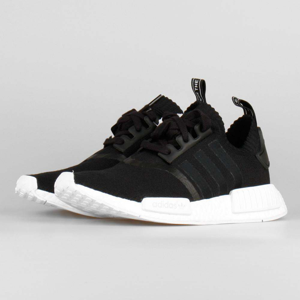 f9c62663a Details about Adidas NMD R1 PK Black White OG Monochrome Size 10. BA8629  yeezy ultra boost
