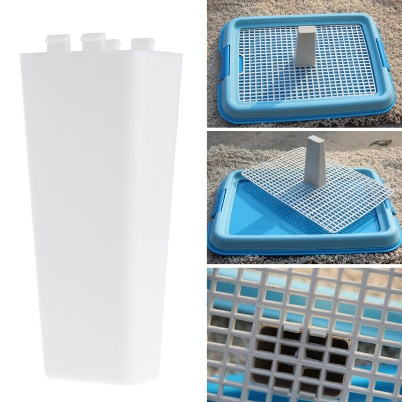 1b4245997a2 Details about Pet Hygienic Tray Pillar Training WC Supplies Accessories Cat  Dog Puppy Products
