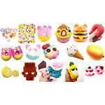 toy STRESS relief Squishies Squishy Toys Cake Food Kitty Ice Cream Galaxy Space