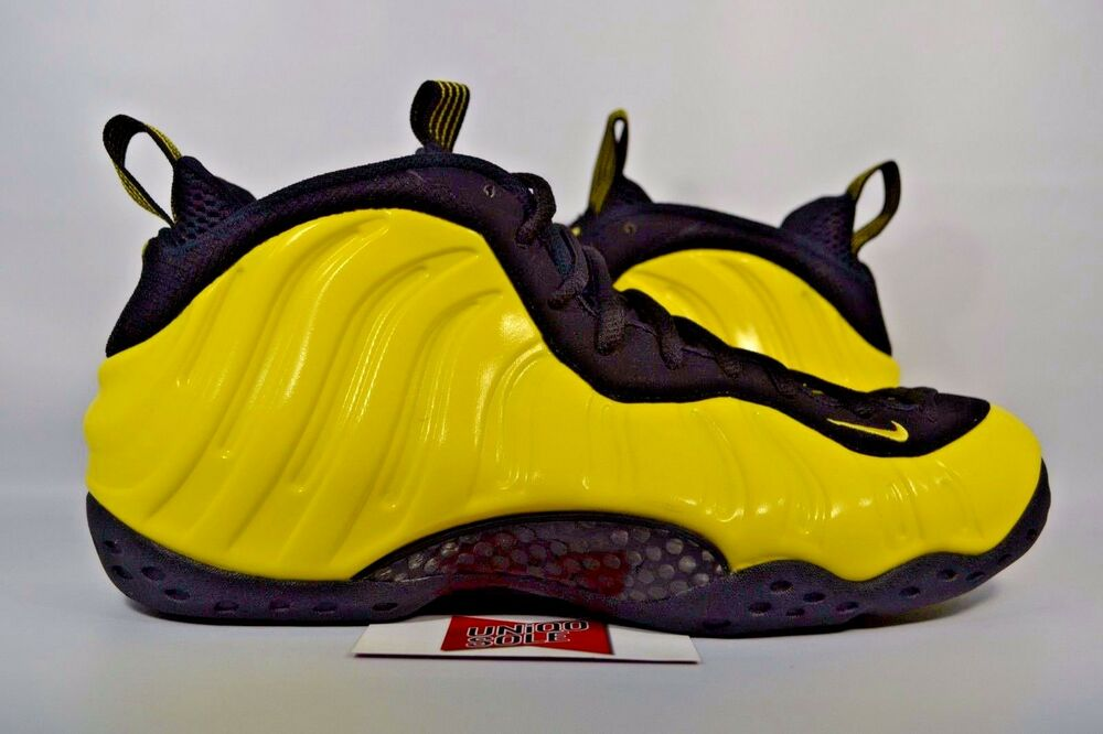 d17075639d8 Details about Nike Air Foamposite One WU TANG OPTIC YELLOW BLACK 314996-701  sz 18