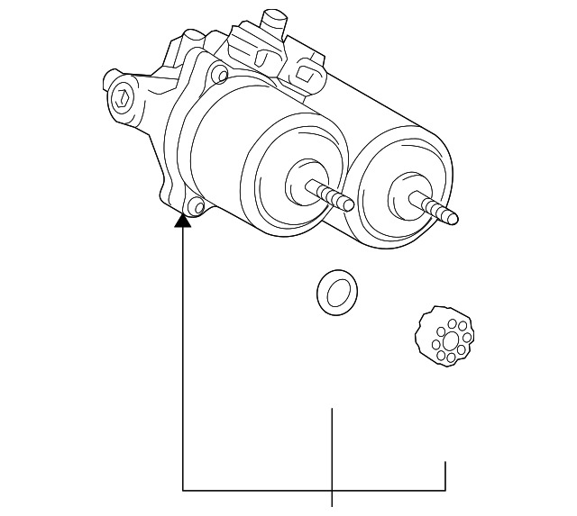 Genuine Toyota Actuator Assembly 47070 47060