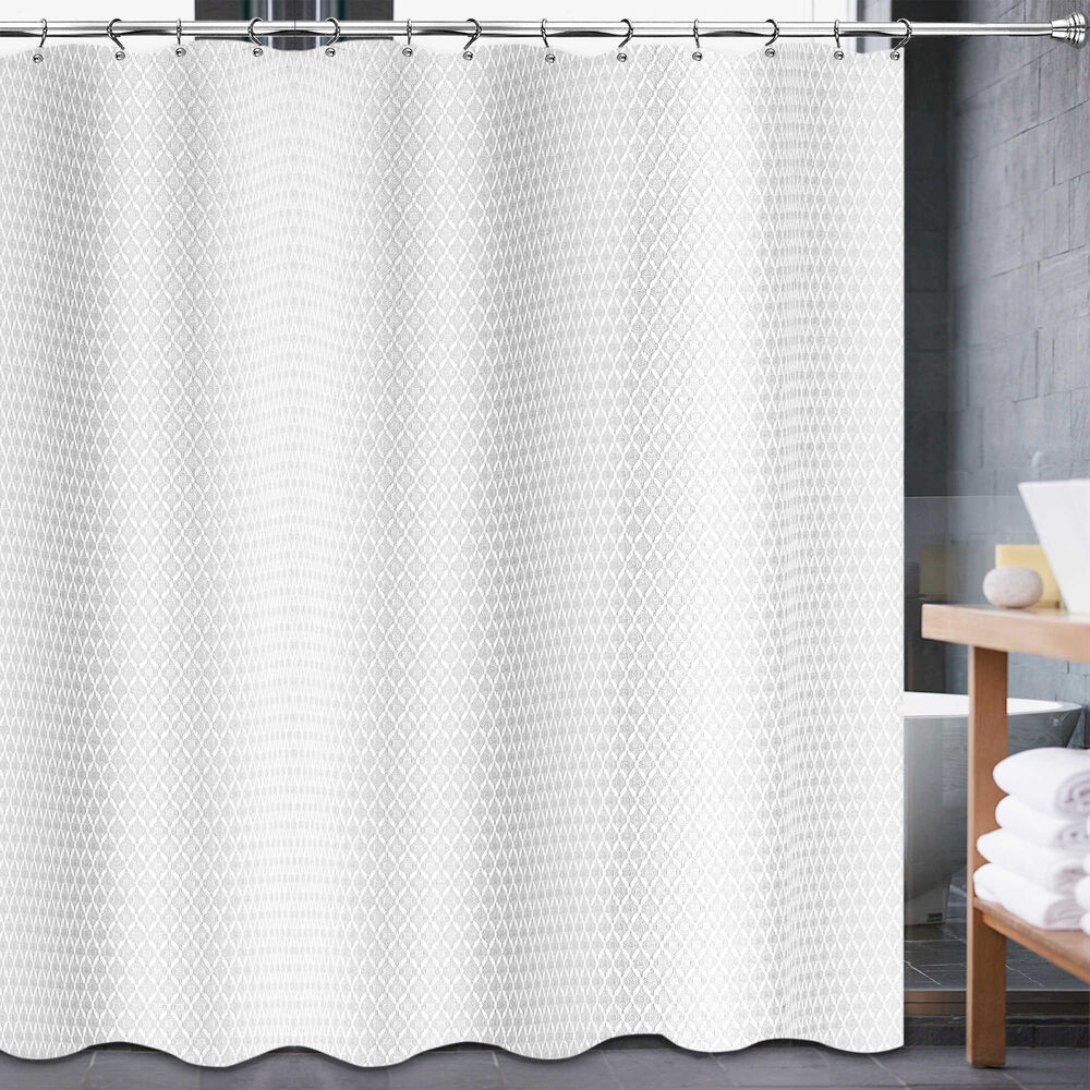 Details About Avalon 54 Inch X 78 Shower Curtain In White