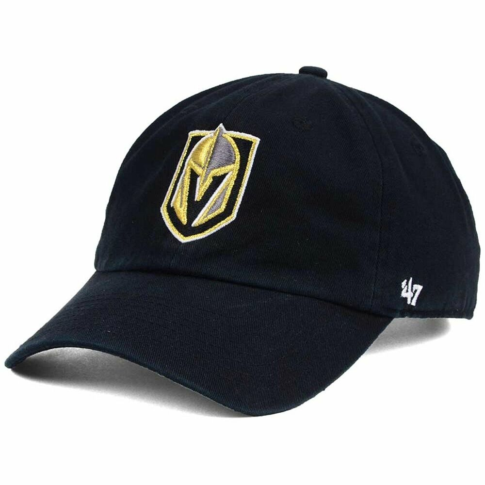 a862d70633a46 Details about Vegas Golden Knights  47 NHL Clean Up Slouch Adjustable Black  Buckle Hat Cap OS