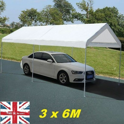 Details about Car Shelter Tent Garden Gazebo Marquee Outdoor Carport Party Shed Canopy Cover & Car Shelter Tent Garden Gazebo Marquee Outdoor Carport Party Shed ...