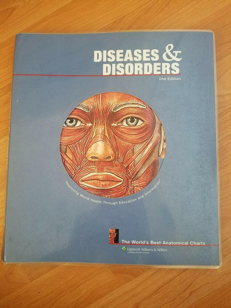 The World S Best Anatomical Chart Diseases And Disorders By C 9781587798931 Ebay