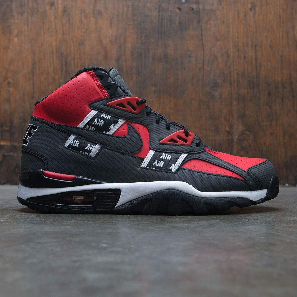 c7e209ced61 Details about Nike Air Trainer SC High Bo Jackson SOA QS Black Red Size 13.  AQ5098-600 Jordan