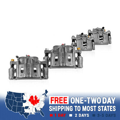 Front+Rear Brake Calipers For 2007 2008 - 2011 F250 2007 - 2010 2011 2012 F350