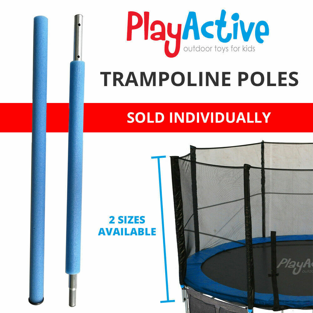 TRAMPOLINE PARTS REPLACEMENT STEEL POLES FOR SAFETY NET