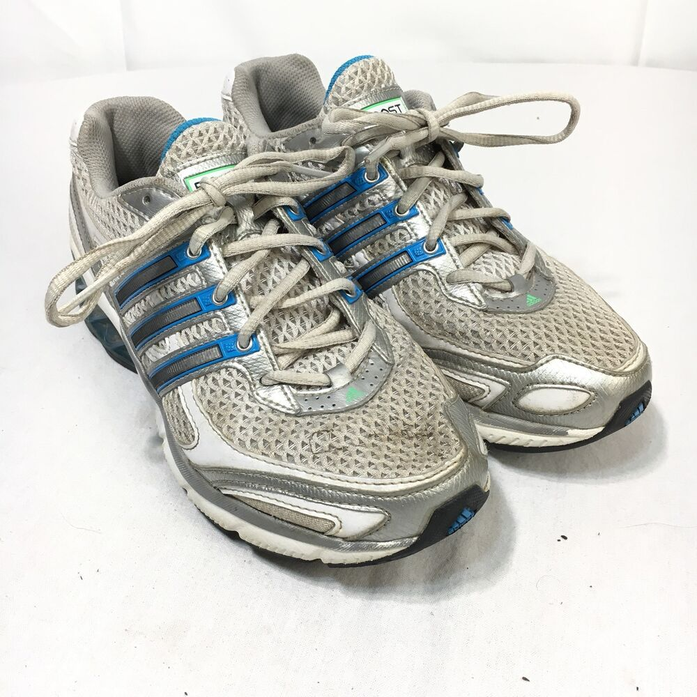 Adidas Wit Lace 6 Boost Dames Zilver Up 2008 Athletic 5 Blauw HU4Hf