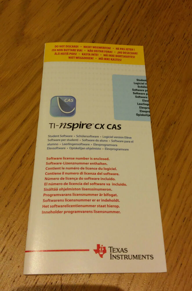 software for ti nspire cx cas