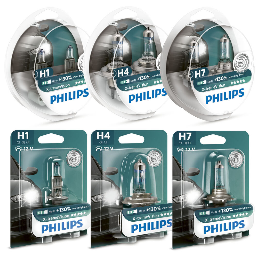 philips xtreme vision 130 more light headlight bulbs h1. Black Bedroom Furniture Sets. Home Design Ideas