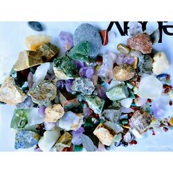 Kyпить Tumbled Stones crystal 80+ natural mineral polished stone rocks mix sizes lot на еВаy.соm