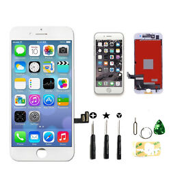 Kyпить For iPhone 7 Plus LCD Touch Digitizer Screen Full Assembly Replacement Kit White на еВаy.соm