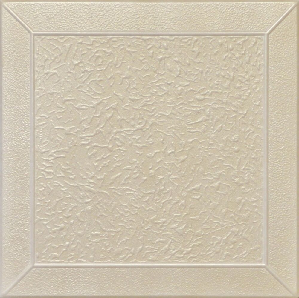 Details About Diy Glue Up White Decorative Ceiling Tiles R27 Champagne