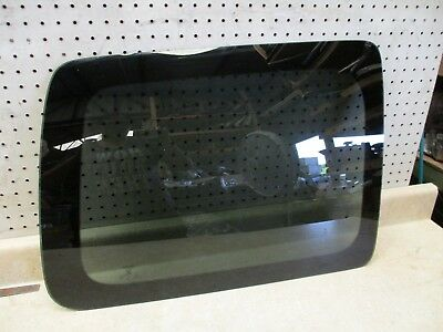 05 to 15 Nissan Xterra Lh Left Driver Rear Quarter Glass Window Oem Privacy