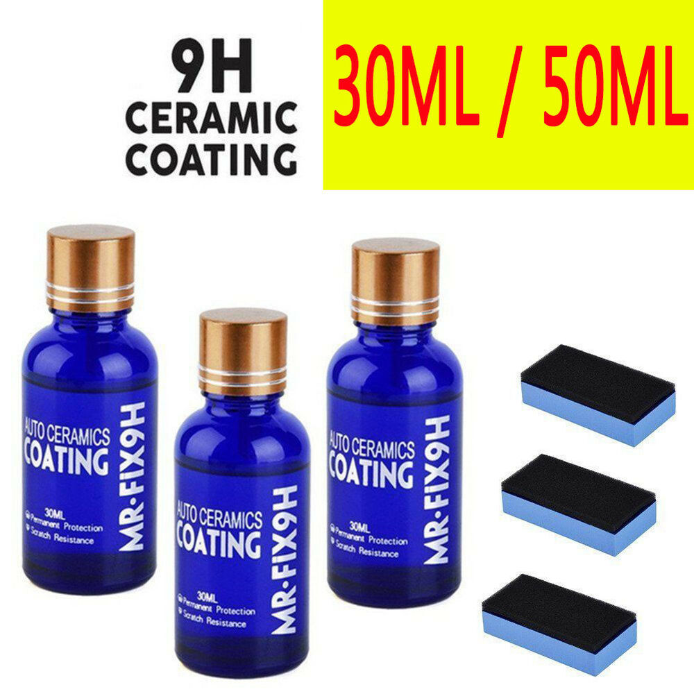 9h mr fix original super ceramic car coating 50ml 30ml ebay. Black Bedroom Furniture Sets. Home Design Ideas
