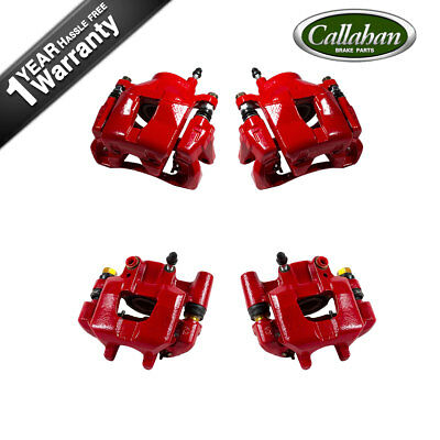 Front and Rear Powder Coated Calipers For 2005 2006 2007 2008 2009 2010 SCION TC