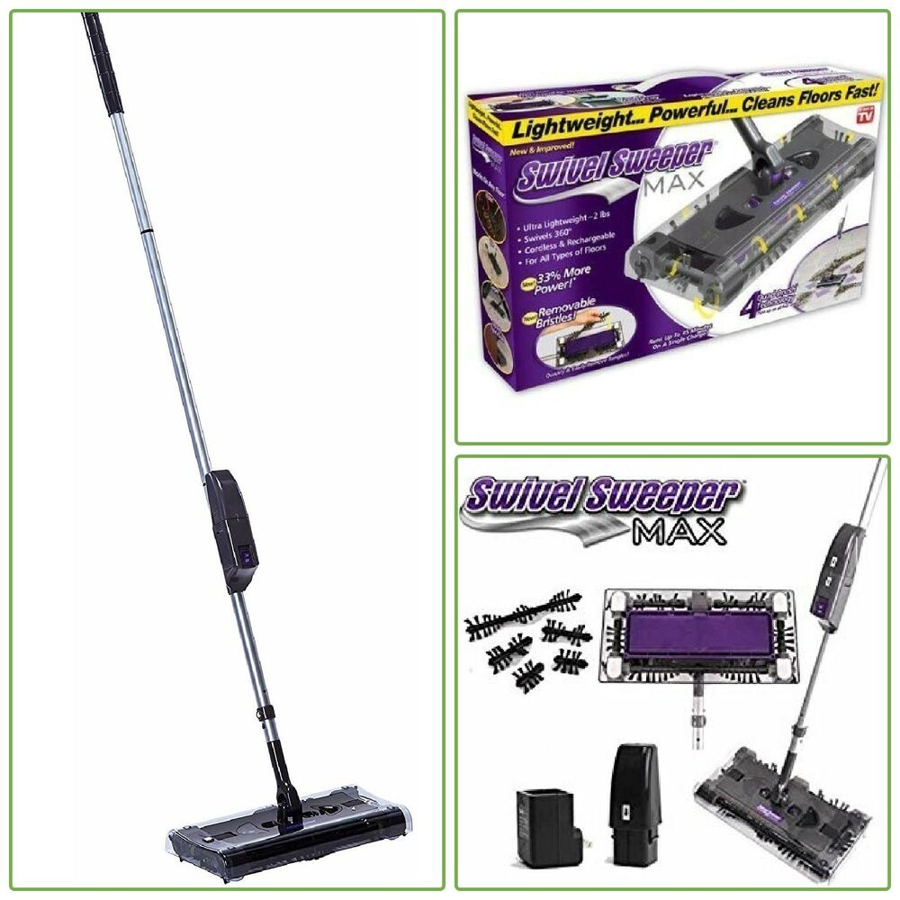 Cordless Swivel Sweeper Rechargeable Battery Stick Vacuum
