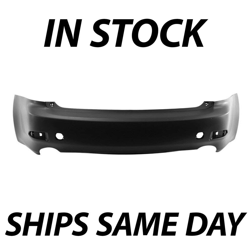NEW Primered Rear Bumper Cover For 2006 2007 2008 Lexus