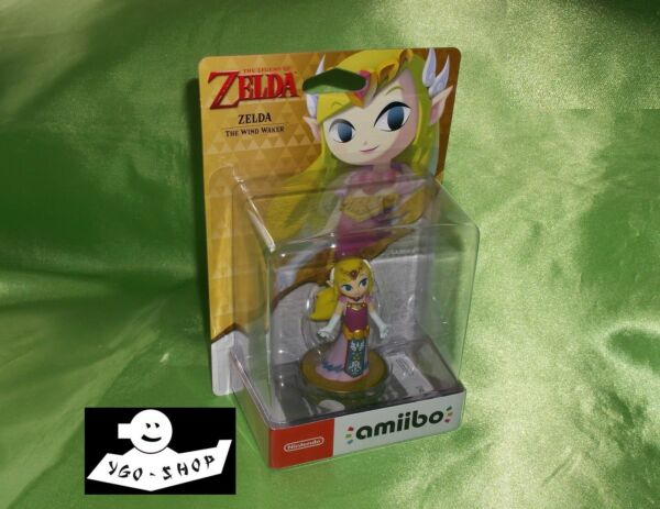 NINTENDO AMIIBO ZELDA THE WIND WALKER NEU OVP toon Cartoon amibo 30th waker C3