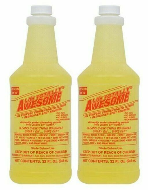 Lot Of 2 La S Totally Awesome All Purpose Concentrated Cleaner Refills 32oz Each Ebay