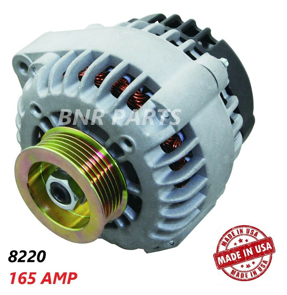 165 AMP 8220 ALTERNATOR Honda Accord Acura CL High Output