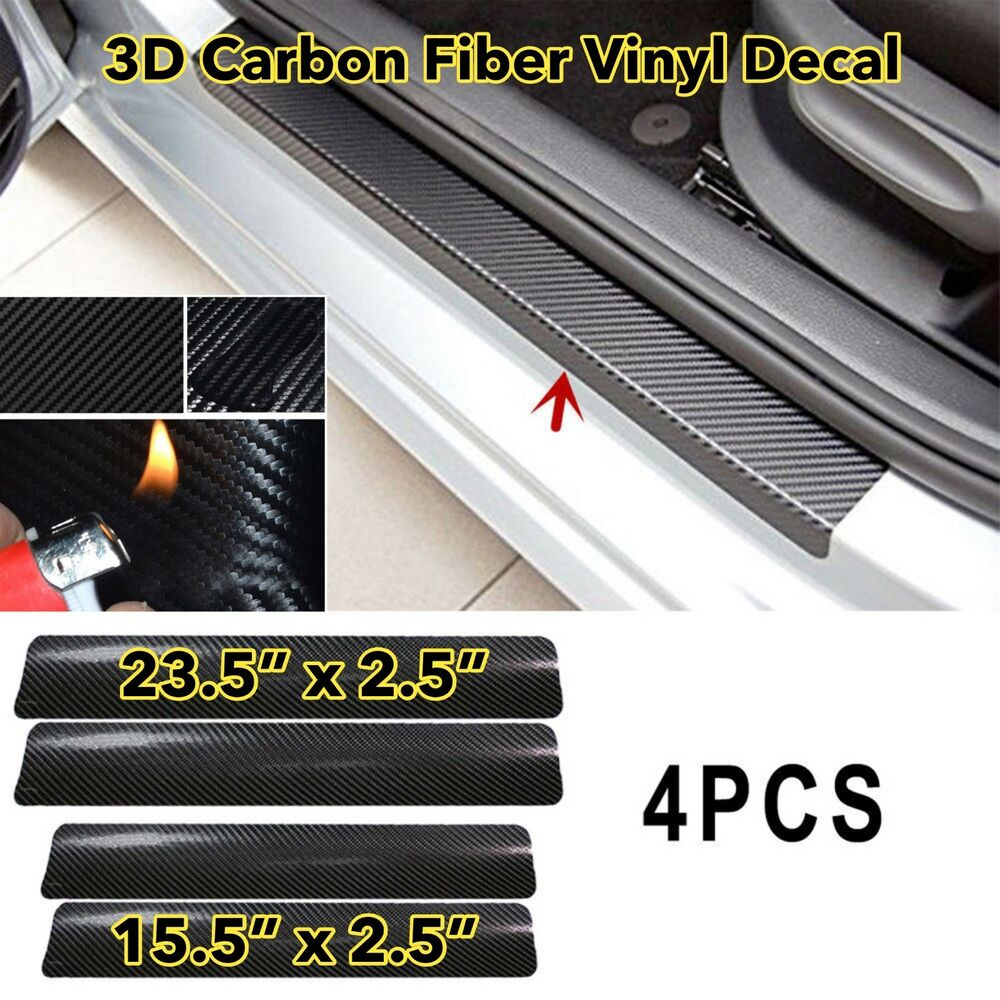Hide Scratches Using Carbon Fiber Stickers
