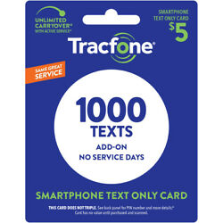 Kyпить TracFone Smartphone Only Plan - 1,000 Add-On Text Only на еВаy.соm