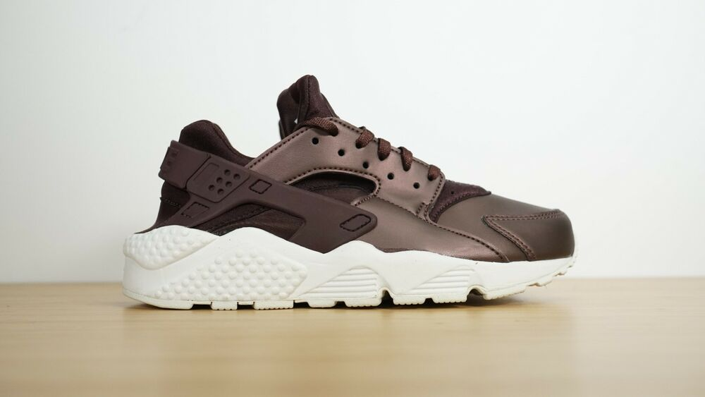 ea0fcd79a42 Details about NIKE Womens Air Huarache Run PRM TXT Metallic Mahogany White  AA0523-202 Size 6.5