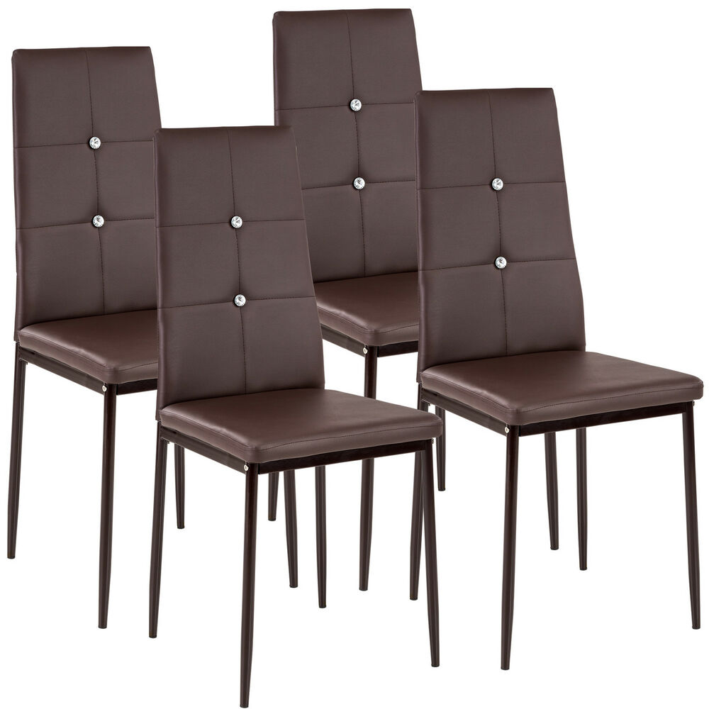 Ebay Furniture Dining Room: 4 Modern Dining Chairs Dining Room Chair Table Faux