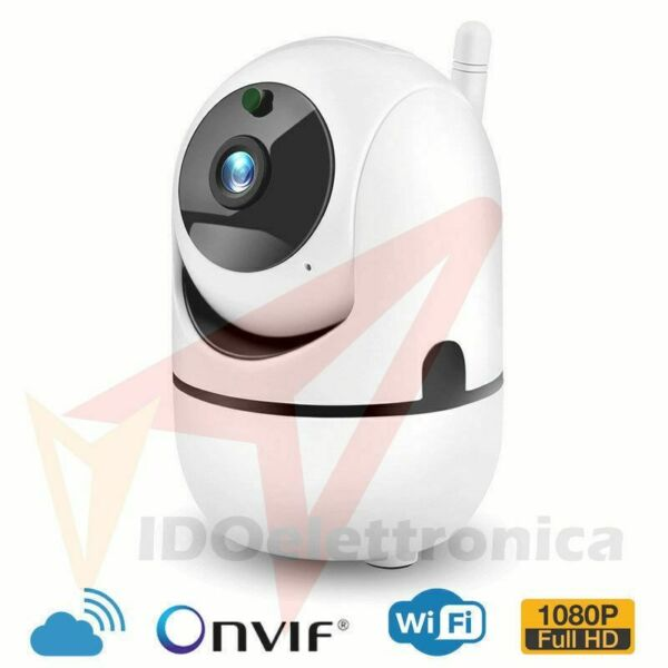 TELECAMERA IP CAM CAMERA HD  LED IR CUT MOTORIZZATA ONVIF CLOUD STORAGE
