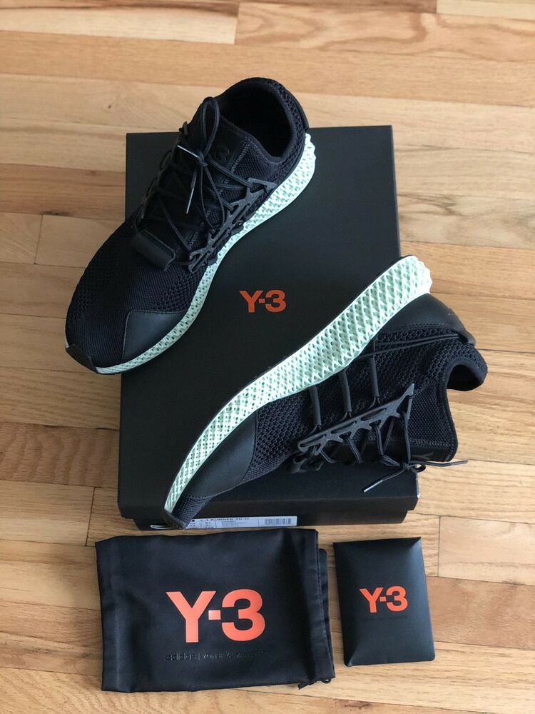 wholesale dealer 1167c ab166 Adidas Y-3 Runner 4D II Futurecraft Size US 10 New With Box