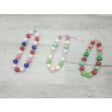 * 3 Options! * NEW - Chunky Bubblegum Necklace - Toddler Child Dress-up