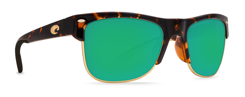 b823e19a40 Details about COSTA DEL MAR POLARIZED SUNGLASSES PAWLEYS TORTOISE GREEN  GLASS 580G PW66 OGMGLP