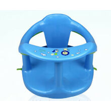 Baby Bath Seat Support Safety Infant Chair Bathing Newborn Tub Ring Blue