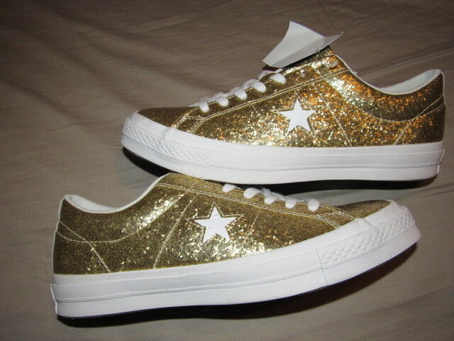 983511a9a0e3 Details about NWOB Converse Custom One Star SPARKLE Size 9 MENS 11 WOMENS  BRAND NEW