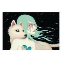 THE WANDERERS LOWBROW ART PRINT SIGNED BY TARA MCPHERSON