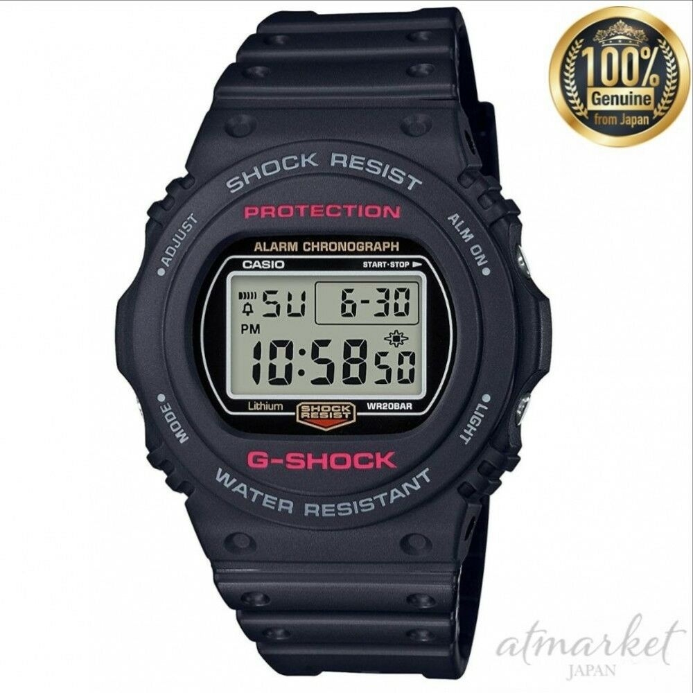 7e8beba93 Details about NEW CASIO Watch G-SHOCK DW-5750E-1JF Men's in Box genuine  from JAPAN