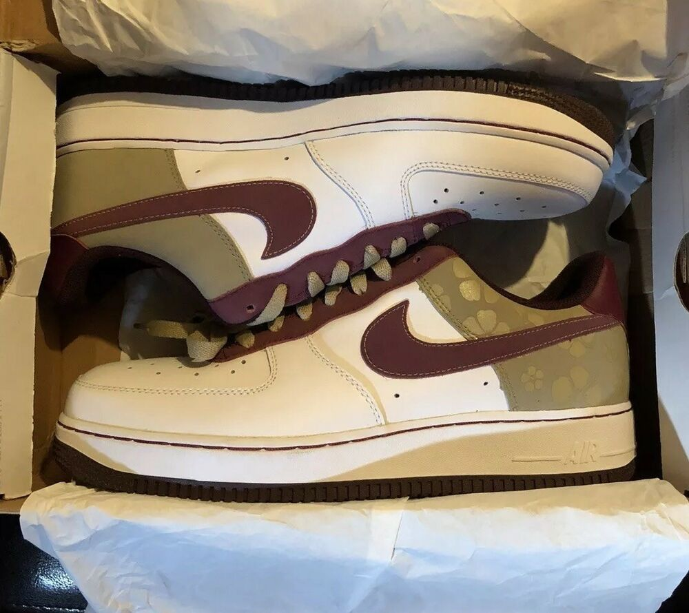 20a985ce4b5d62 Details about Nike Lotus Flower Air Force 1 AF1 07 WMNS size 11 Limited Very  RARE Vintage