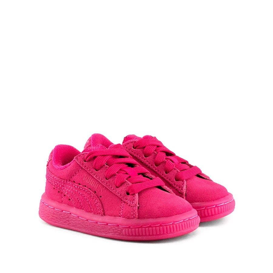 best service f2ea8 e5590 Puma Suede Classic Pink 361938-01 Toddler infant Shoes   eBay