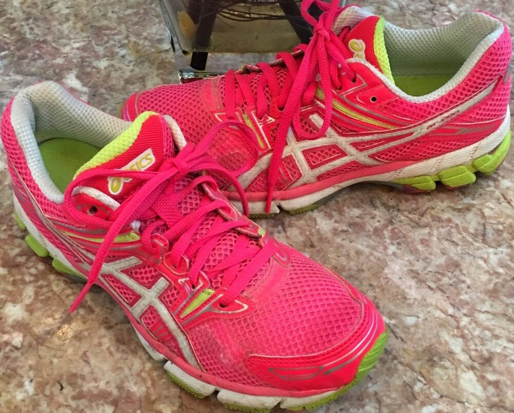 639906580a90 Details about ASICS Gel GT-1000 Women s Running Cross-Training T2L6N Pink  White Shoe Size 7.