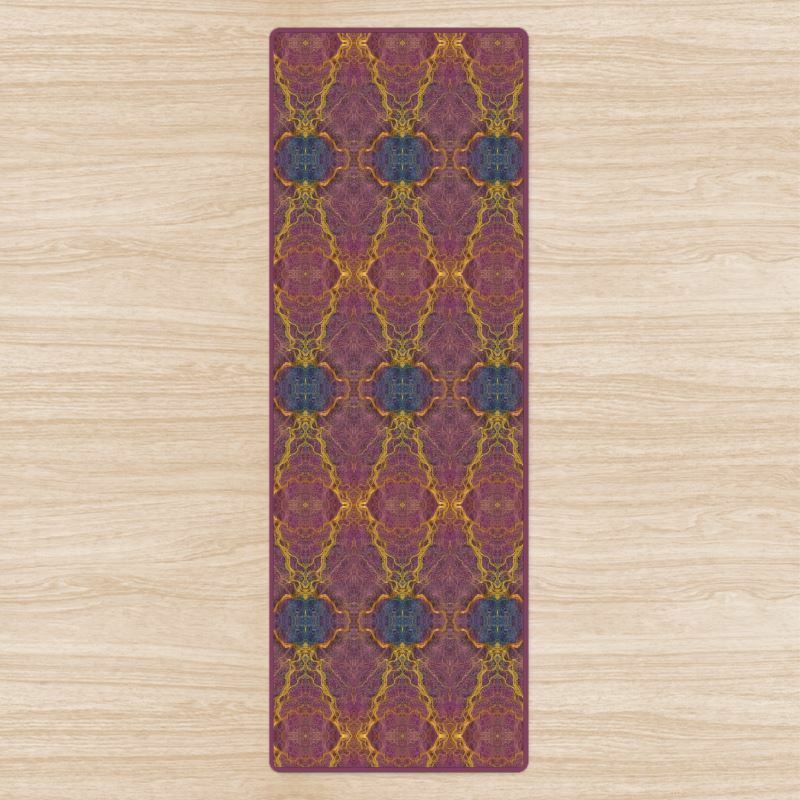 Details about Divine Mandala Yoga Mat. High Quality UK Designer Brand.  Non-Slip rubber base. 00ed1e7b2669