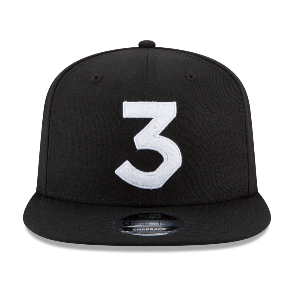 Details about Chance The Rapper 3 New Era Cap Snapback Hat (Black) 100%  Authentic   ON HAND! 9681e13b27a