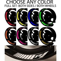 YAMAHA YZF R1 INNER RIM DECALS WHEEL STRIPES REFLECTIVE GRAPHICS STICKERS TAPE