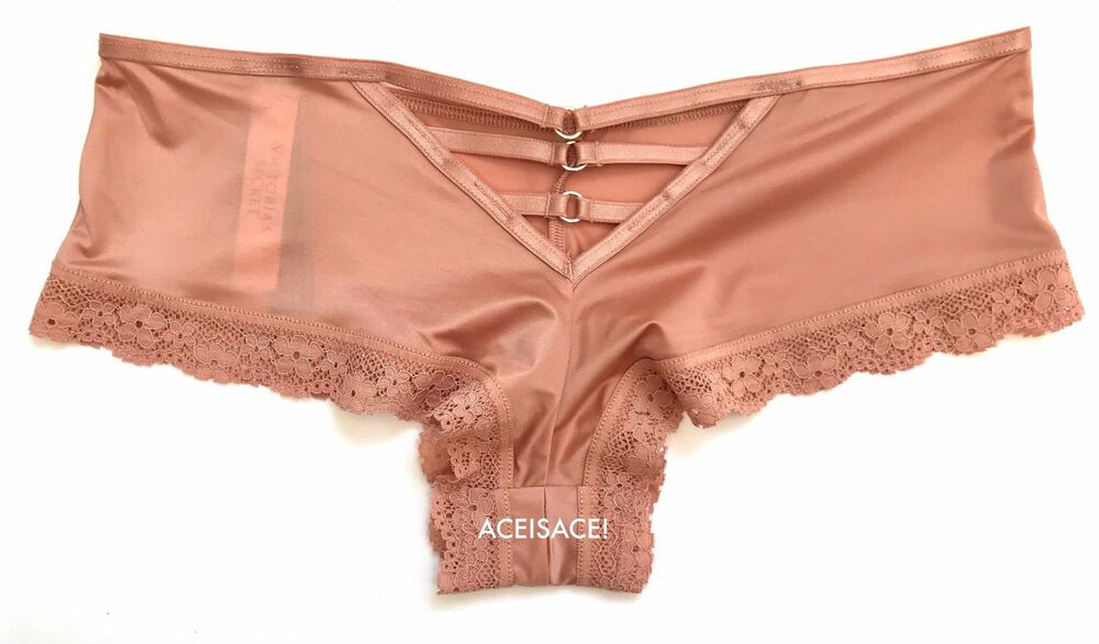 9e9825825d86 Details about NWT*VICTORIA'S SECRET VERY SEXY STRAPPY CHEEKY PANTY---COPPER  BLUSH (7AJ)---M/M